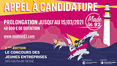 Appel à candidatures du concours Made in 92