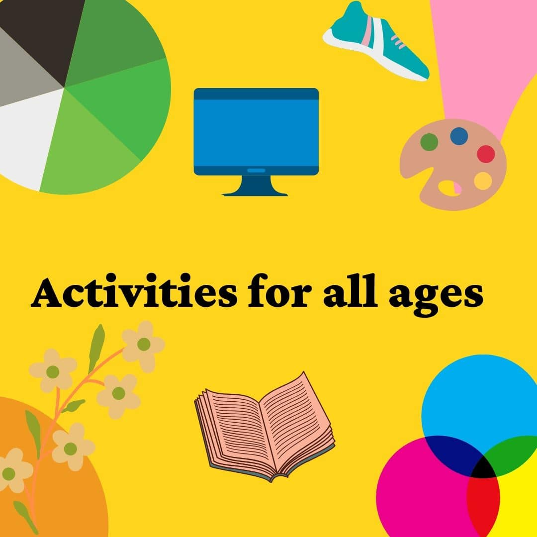 Activities for all ages poster