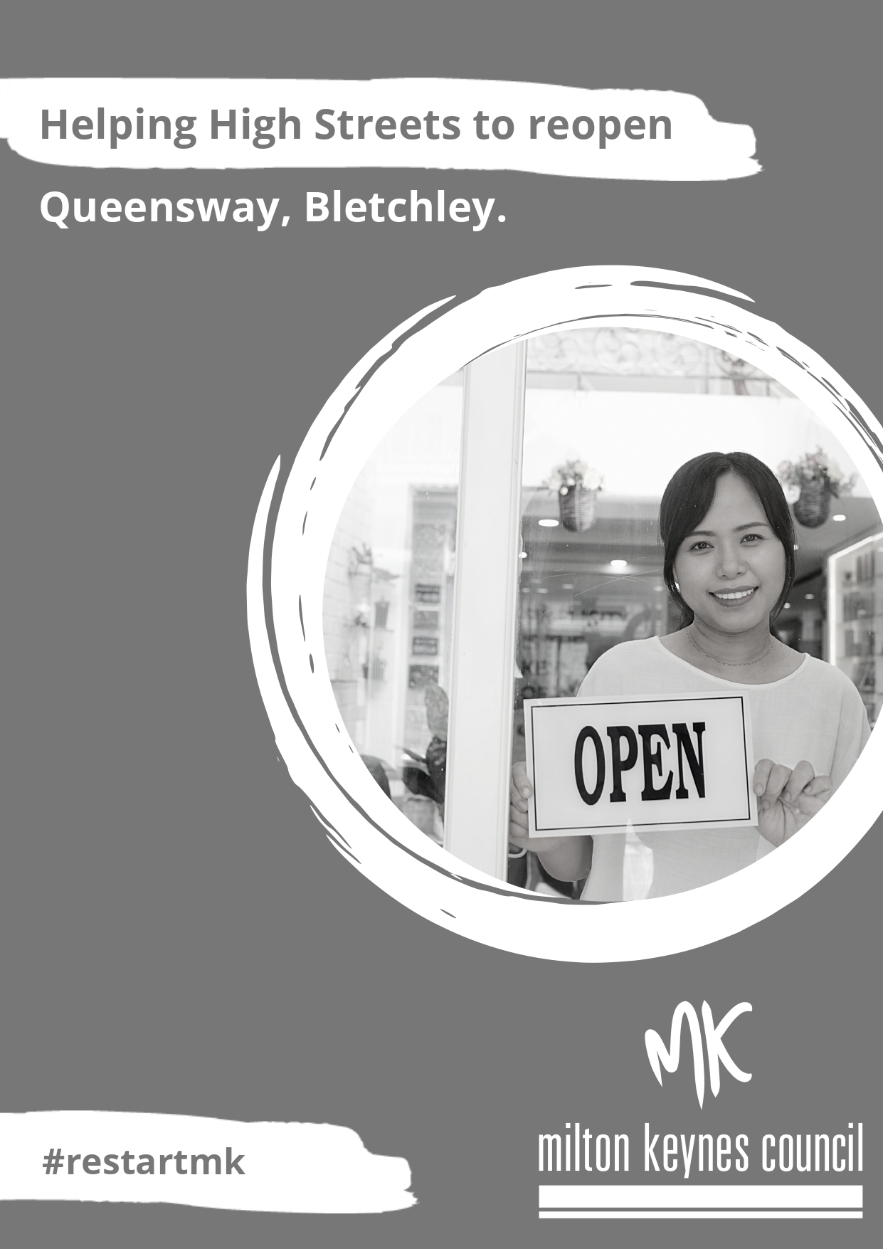 Queensway leaflet front page