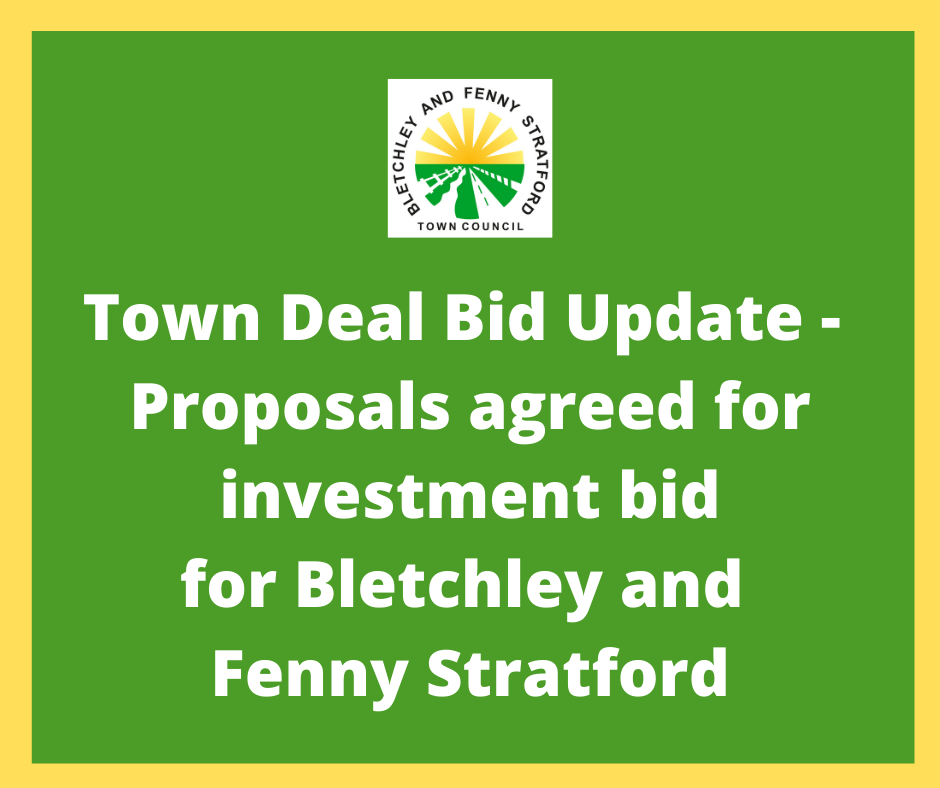 Image of Town Deal Update poster