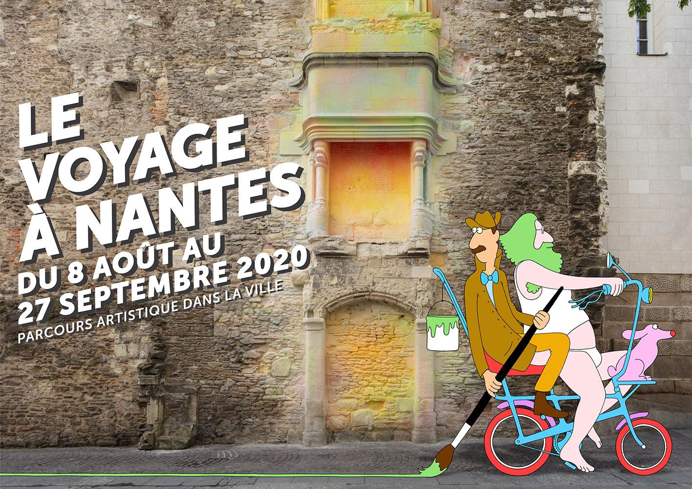 Le Voyage à Nantes, du 8 août au 27 septembre 2020.