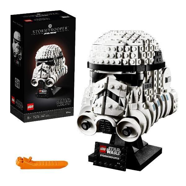 Lego Staw Wars Casco Stormtrooper