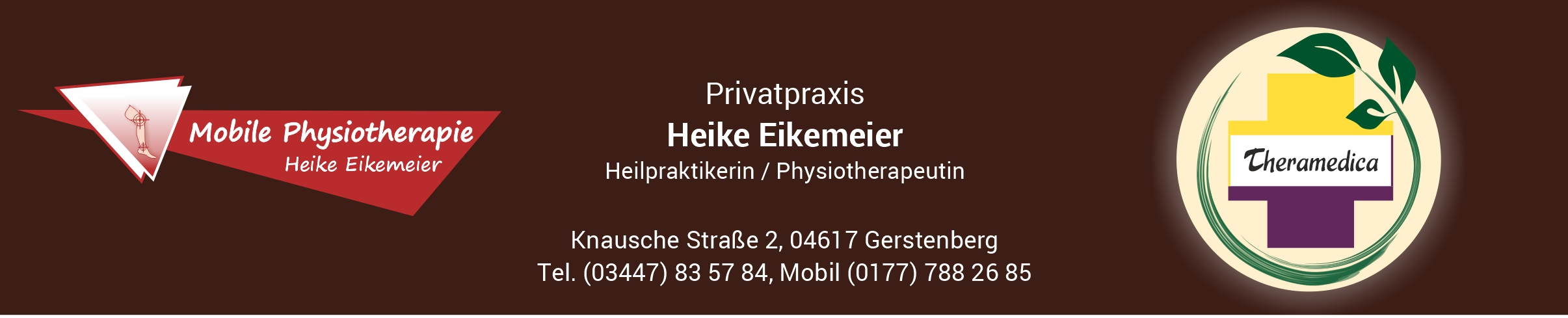 Mobile Physiotherapie + Praxis Theramedica Heike Eikemeier