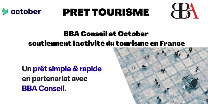 Prêt tourisme bba conseil et october