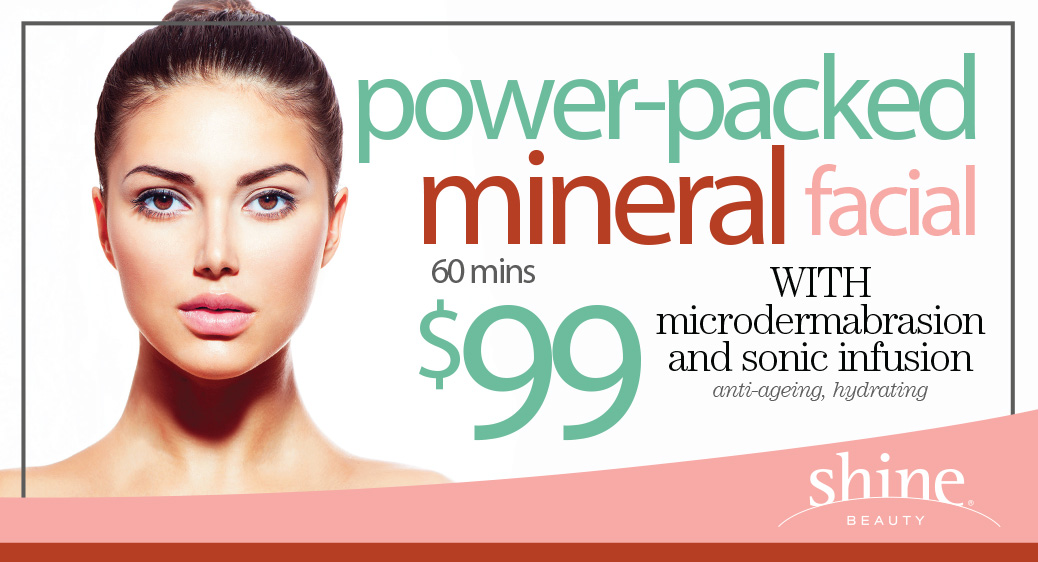 power packed mineral facial