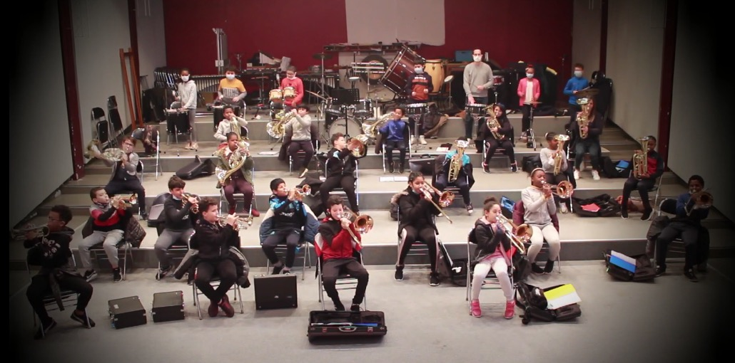Orchestre à l'école de La Vallée
