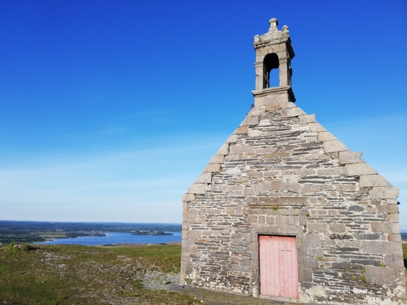 Photo of the month: The chapel of Mont St Michel de Brasparts