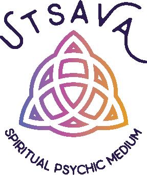 Utsava Spiritual Psychic Medium trinity logo