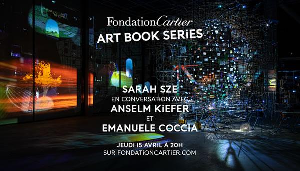 Sarah Sze en conversation avec Anselm Kiefer et Emanuele Coccia