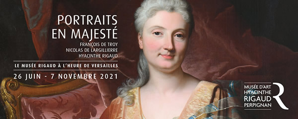 Hyacinthe RIGAUD (1659-1743). Portrait présumé de Madame de la Jonchère ; Portrait de Charlotte Raisin de la Jonchère (détail).